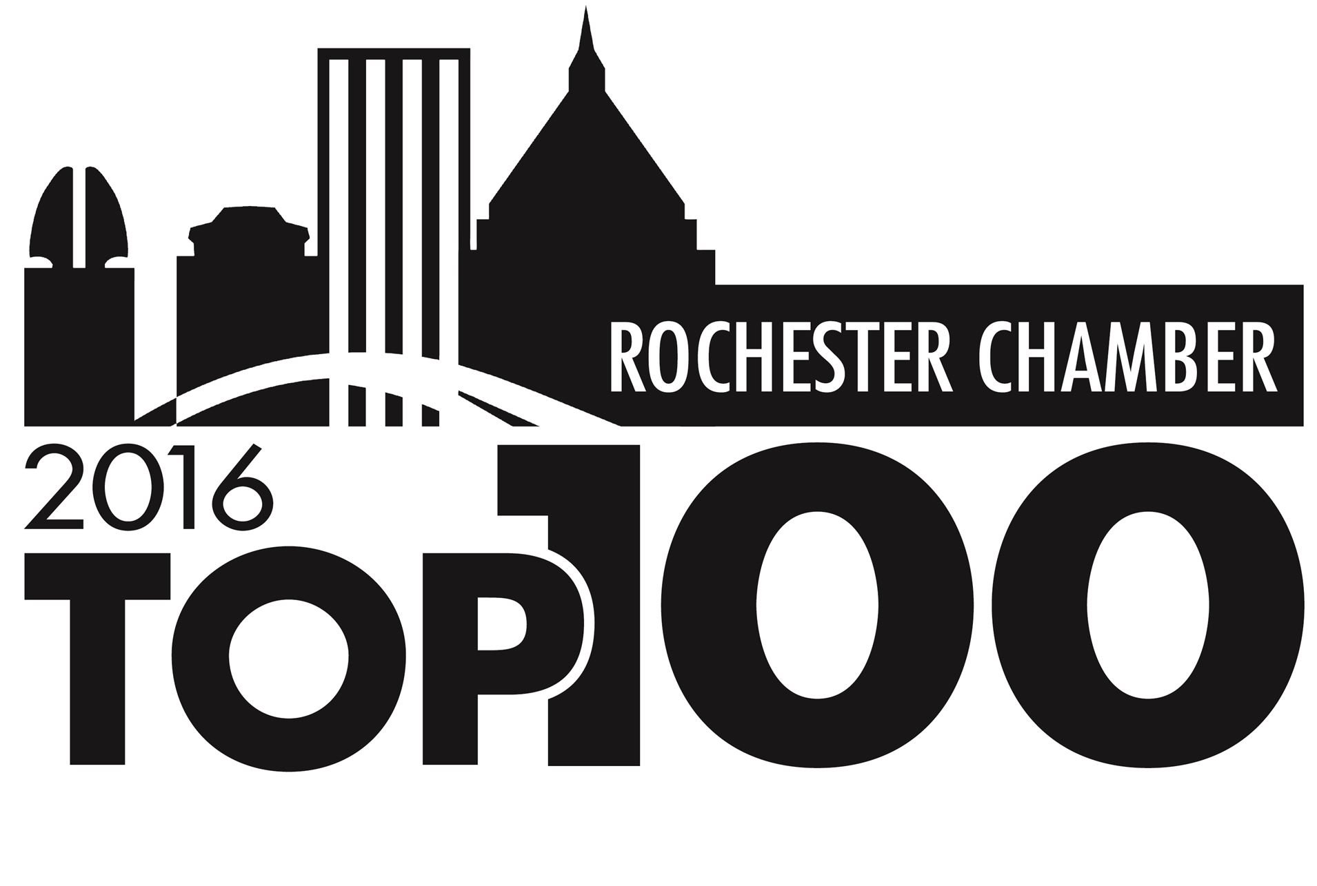 Rochester Top 100 award logo