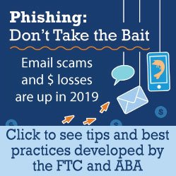 ABA FTC phishing infographic fraud scam