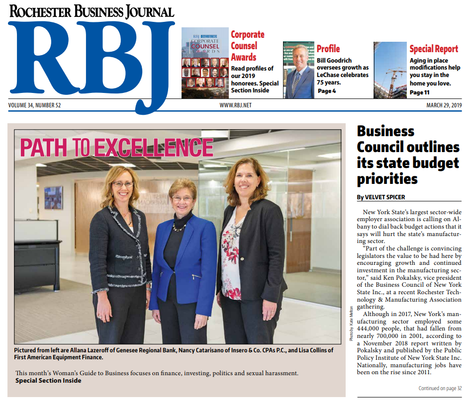 Allana Lazeroff Path to Excellence RBJ front page image