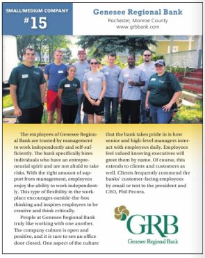 Click on this link to see the GRB feature in the Best Companies program