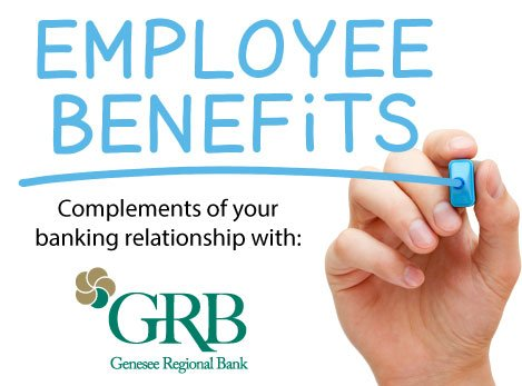 Employee benefits from GRB graphic