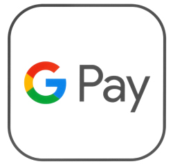 Google Pay Digital Wallet logo. Links to Set up instructions and FAQs for Google Pay.