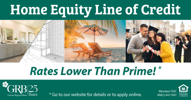 Home Equity Line of Credit Rates Lower Than Prime