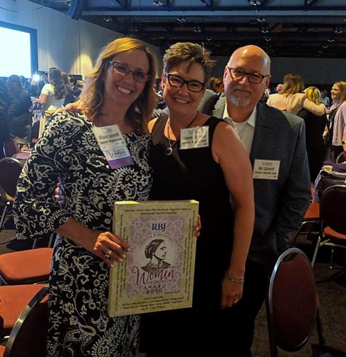 Allana Lazeroff receives Women of Excellence Award RBJ rochester business journal