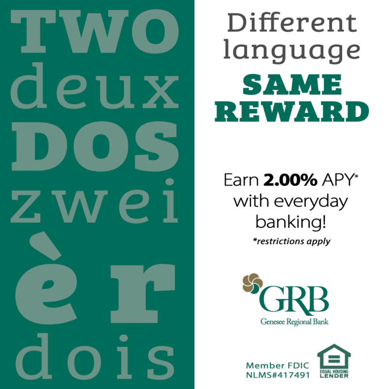 """Ad featuring different the number """"2"""" in different languages"""