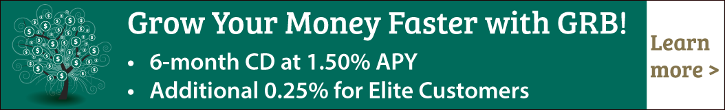 CD Rate special banner - 1.50% APY