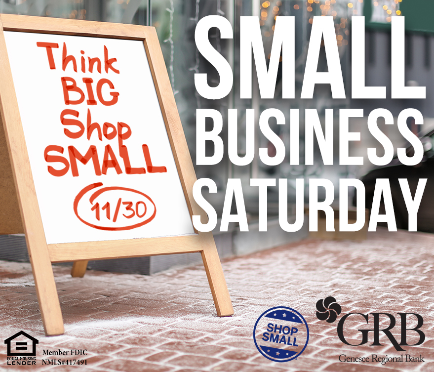 Photo illustration promoting Small Business Saturday