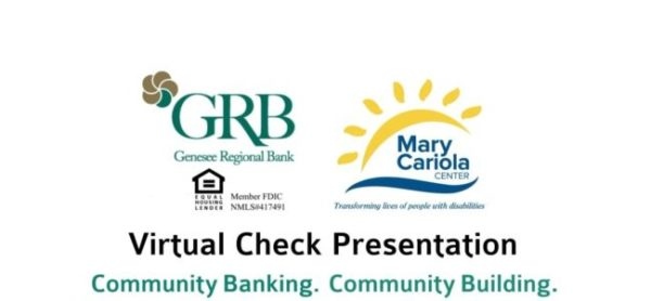 Thumbnail for a video with GRB logo and Mary Cariola Children's Center logo