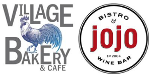 Village bakery and jojo logos