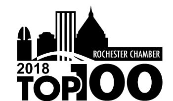 Rochester Top 100 2018 winner logo