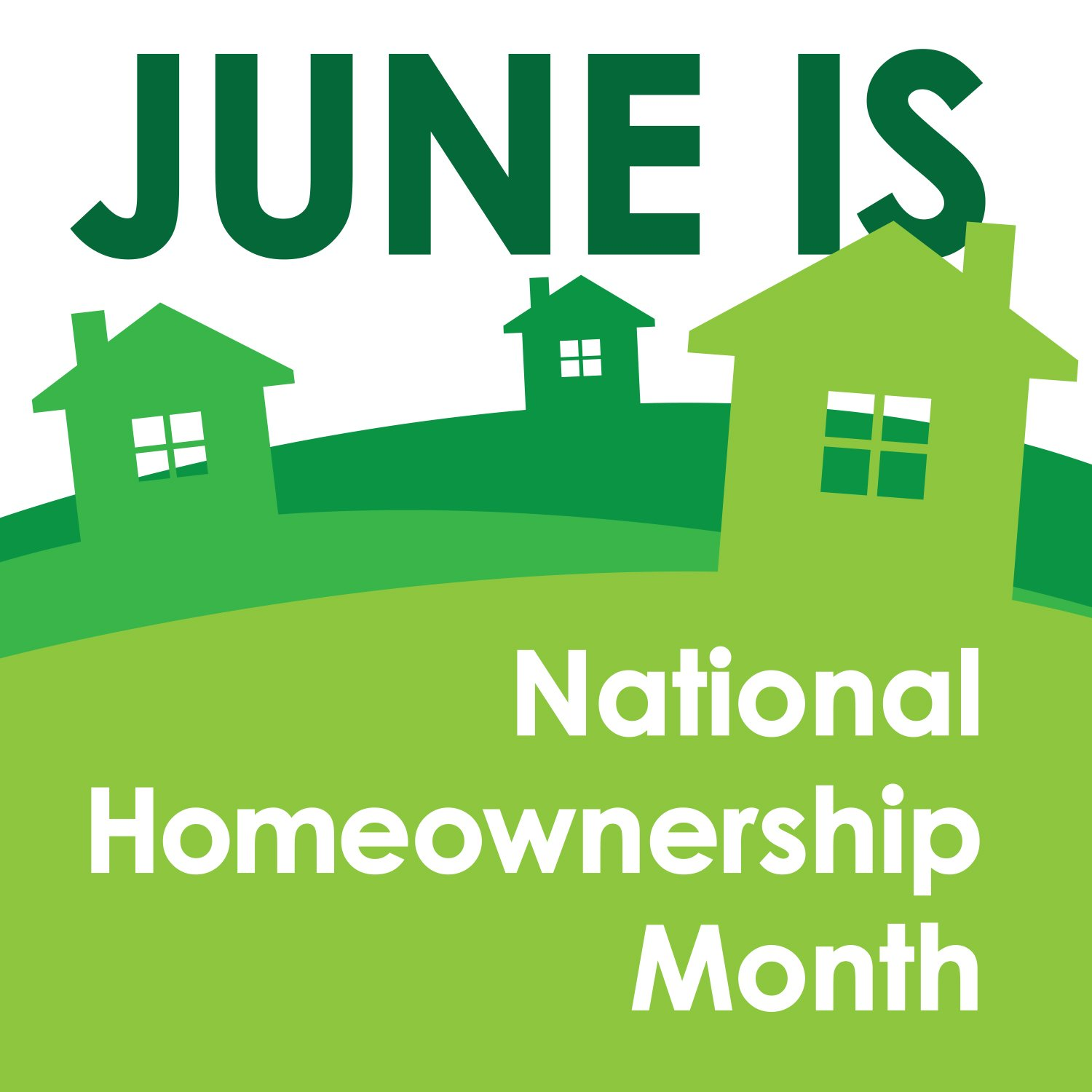 Logo released to acknowledge National Homeownership Month