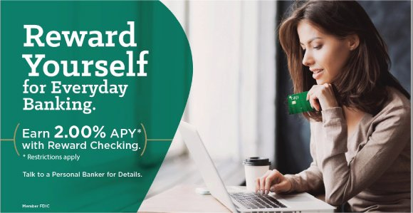 Reward yourself for everyday banking